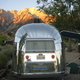 Thumb airstream at lone pine