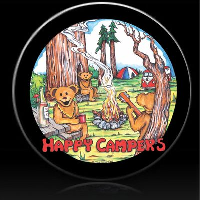 Profile happy campers spare tire cover 1