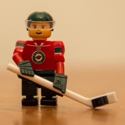 Profile lego hockey guy