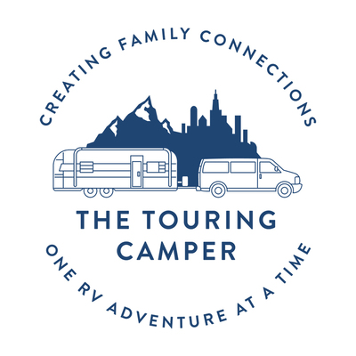 Profile touringcamper logo badge blue web 3