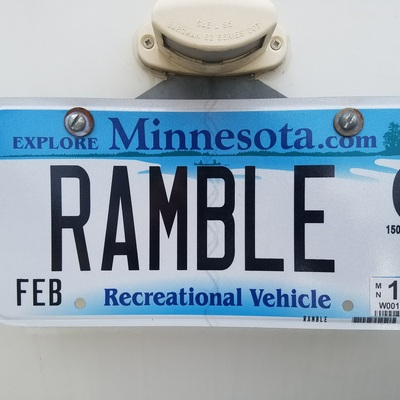 Profile 20171014 ramble license plate