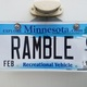 Thumb 20171014 ramble license plate