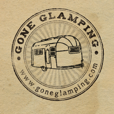 Profile logo for gone glamping   brown