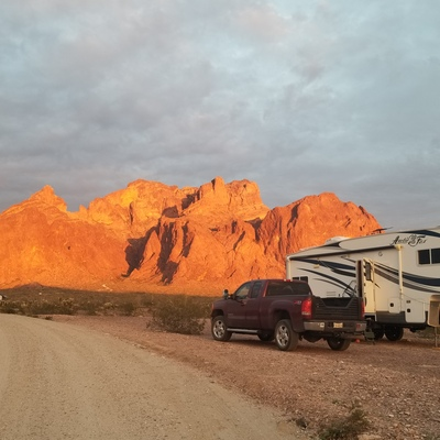 Profile kofa sunset