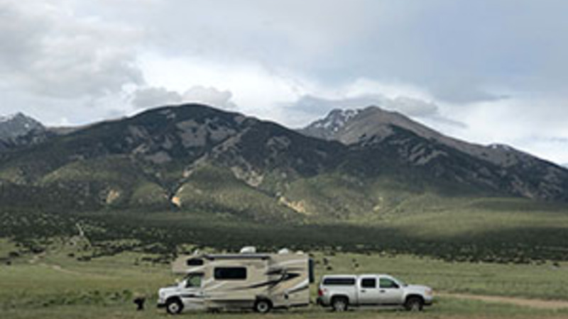 RV camping for free in Colorado