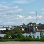 Pickwick dam tailwater