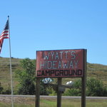 Wyatts hideaway campground