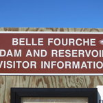 Belle fourche dam reservoir