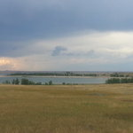 Belle fourche dam reservoir