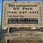 Throckmorton rv park