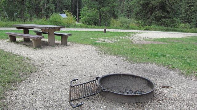 Boxelder forks campground
