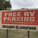 Levelland city rv park