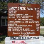 Sandy creek park leander tx