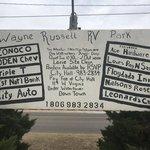 Wayne russell rv park