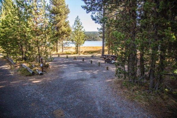 Little lava lake campground