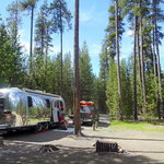 Lava lake campground