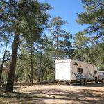 Chevelon canyon lake campground