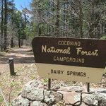 Dairy springs campground