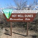 Hot well dunes recreation area