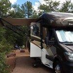 Houston mesa campground