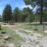 Lakeview campground coconino nf