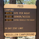 Mogollon campground