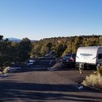 Sunset view campground