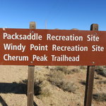 Packsaddle recreation site