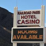 Railroad pass hotel casino