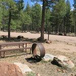 Rim campground