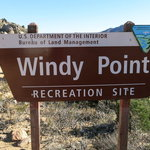 Windy point recreation site