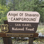Angel of shavano campground