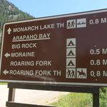 Big rock arapaho bay campground