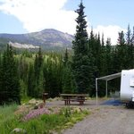 Bear lake campground routt nf