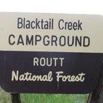 Blacktail creek campground