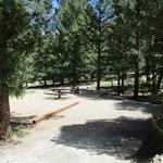 Cascade campground san isabel nf
