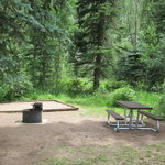 Cement creek campground