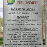 Del norte city park