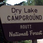 Dry lake campground routt nf