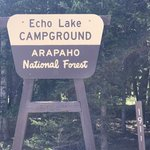 Echo lake campground arapaho nf