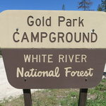 Gold park campground