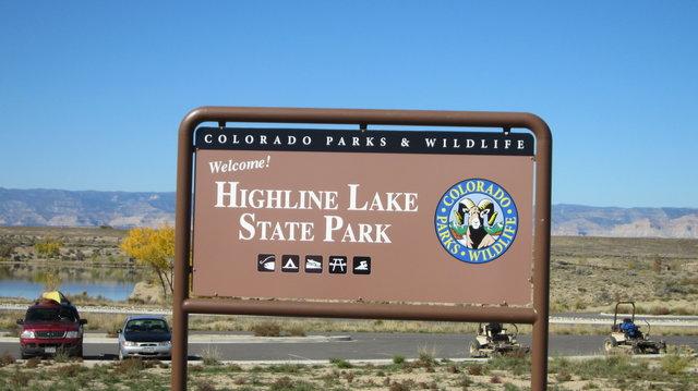 Highline lake state park