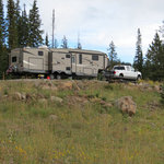Island lake campground grand mesa nf