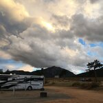Estes park campground at marys lake