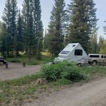 Meadows campground routt nf