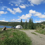 Molas lake park campground