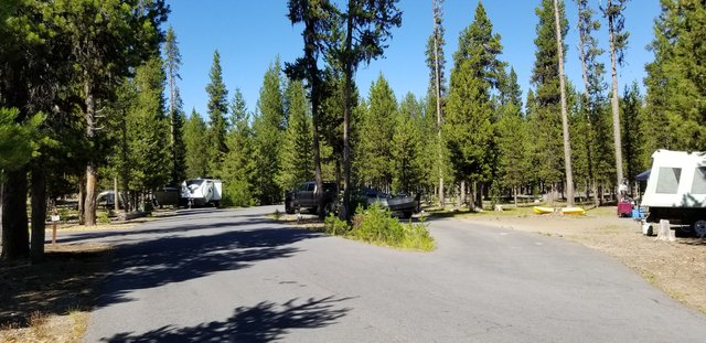 Broken arrow campground