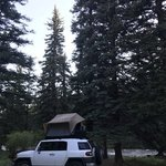 Park creek campground rio grande nf