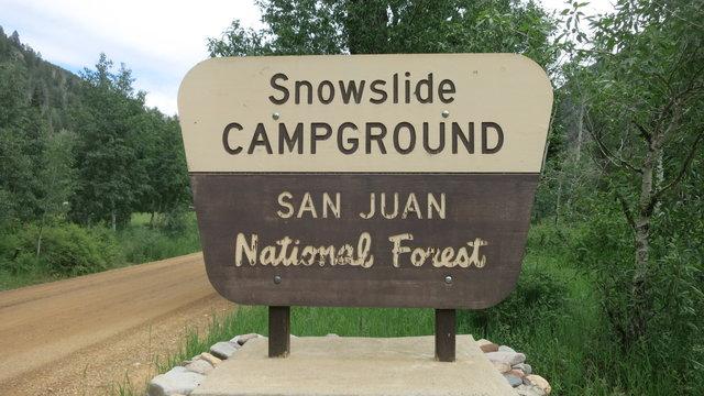 Snowslide campground