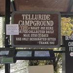 Telluride town park campground